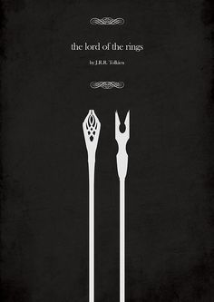 The Lord of the Rings: The Fellowship of the Ring (2001)  ~ Minimal Movie Poster by iamhingo #amusementphile