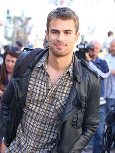 "Theo James is in it. | 29 Extremely Important Reasons To Go See ""Divergent"""