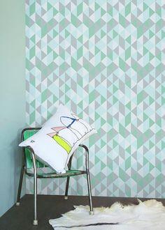 Self adhesive vinyl wallpaper, wall decal - kaleidoscope pattern - 068