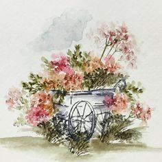 art impressions - watercolor - marker                                                                                                                                                                                 More