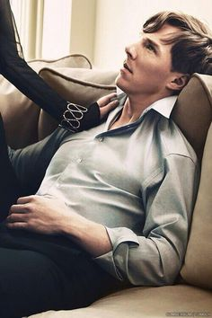 Benedict Cumberbatch. Don't know why I hadn't pinned this yet. Maybe b/c it's so hot that it burns my retinas every time!