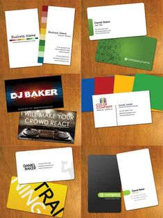 Amazing free design for business cards on different backgrounds everybody needs a nice business card but not everyone is blessed with the talent to make one here are free printable business card templates in eps or psd reheart Gallery
