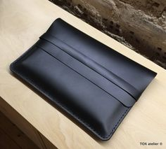 Matte Leather Macbook Case / NEW 12''Macbook case by toxleather