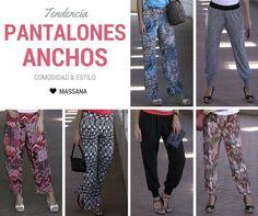 ¡Que vivan los pantalones anchos! Comodidad y estilo, la combinación perfecta ;) | #Massana #Summer #Spring #MassanaHomewear #MassanaLooks
