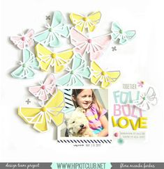 Füli Büli Love with Hip Kit Club butterfly cut file + process video | by Flóra Mónika Farkas