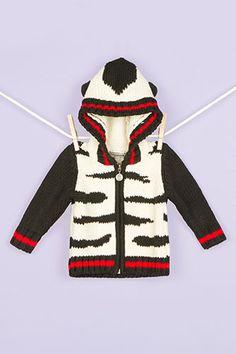 Baby Little Girl Funkoos Girls Organic Shrug Sweater