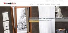 Il nuovo sito internet di Schulz Italia realizzato dalla Upanè