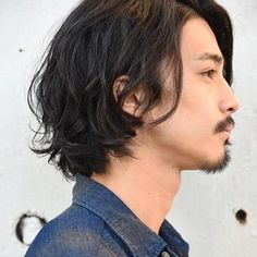 Medium Length Hair Men, Long Hair Cuts, Medium Hair Styles, Asian Haircut, Asian Men Hairstyle, Curly Hair Tips, Curly Hair Men, Curly Girl, Hair And Beard Styles