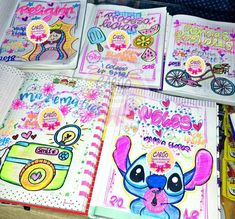 Decorate Notebook, Diy Notebook, School Notebooks, Cute Notes, Caligraphy, Bookbinding, Pencil Drawings, Decoration, Hello Kitty