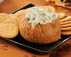Sour Cream Dip Recipes - Most people love a palate-pleasing dip—and Daisy Sour Cream and Cottage Cheese make good dips taste great. Daisy Sour Cream, Sour Cream Dip, Bread Bowl Dip, Daisy Brand, Cheese Dip Recipes, Asiago Cheese, Homemade Pickles, Food And Drink, Dessert Recipes