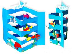 DIY Sea Craft - Dolphins at Daybreak Using for goal chart, move dolphin up as they reach goals