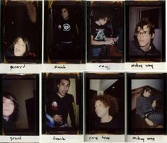 Gerard Way, Frank Iero, Ray Toro, Mikey Way | My Chemical Romance