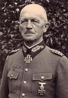 Wehrmacht General Theodor Endres - General of Artillery, 212 infantry division