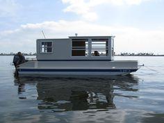 Trailerable Houseboat Homemade: Houseboat Homemade