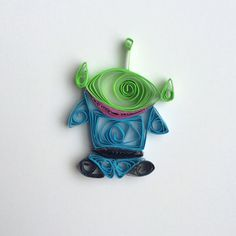 Toy Story Alien by QuilledCharacters on Etsy