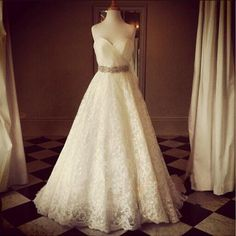 Wedding Dresses,2016 Wedding Gown,Lace Wedding Gowns,Ball Gown Bridal Dress,Fitted Wedding Dress,Corset Brides Dress,Vintage Wedding Gowns,Straps Wedding Dress https://bellanblue.com