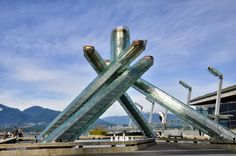 The Olympic Cauldron from the 2010 Winter Olympic Games in Vancouver, Canada