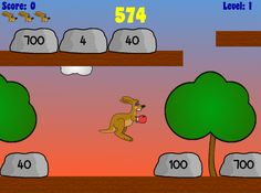 Bango | Place Value Puncher Great computer math game to reinforce place value. Best for kids in grades 1-5. RoomRecess.com