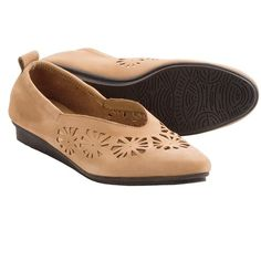 Arche Ninyka Shoes - Slip-Ons (For Women) in Tan Nubuck