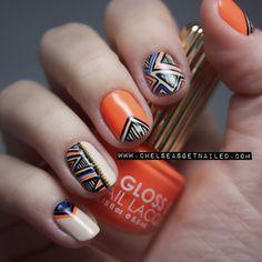 Orange nail art ~【☞CASINO☜】~ PINK14.COM 와와카지노 다모아카지노 세븐카지노