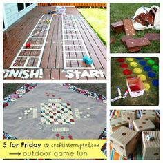 5 for Friday ~ Outdoor Game Fun