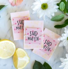 DIY bar soap for valentine's day!