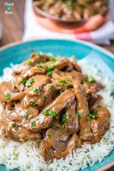 The Vegan Version: Porcini Mushroom Stroganoff Slimming World Beef Stroganoff, Vegan Stroganoff, Mushroom Stroganoff, Stroganoff Recipe, Beef Recipes, Healthy Recipes, Irish Recipes, Healthy Meals, Pasta Recipes