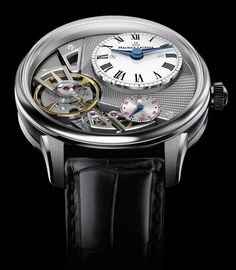 #watch: Masterpiece Gravity by Maurice Lacroix  #baselworld2014 #Mauricelacroix #novelty