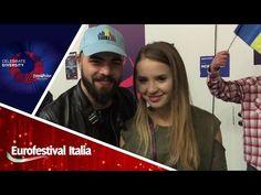 Eurovision 2017 - Saluto di Ilinca Băcilă e Alex Florea - YouTube
