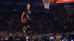 In recent memory, slam dunk contests at the NBA All Star Weekend have been subpar and pretty much dull. But last night