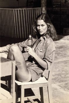 Lauren Hutton in Mexico in the mid-70's Photograph by Fred Seidman