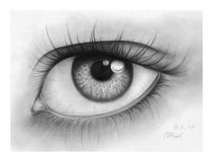 Realistic Drawings eyes drawing - Drawing of Eyes : Eyes are the most expressive and one of the beautiful features on a face. No matter which part of the world you are from, your eyes can speak volumes. As an artist, drawing of eyes Human Eye Drawing, Eye Pencil Drawing, Realistic Pencil Drawings, Angel Drawing, Pencil Shading, Pencil Drawing Tutorials, Cool Drawings, Drawing Drawing, Black And White Drawing