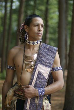 Handsome Warrior with Wampum Belt | Native American News