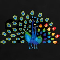 Autism peacock - SOO cool!  Maybe I can convince Jessica to paint it for me...