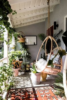 ✔ 66 Beautiful Small Balcony Garden Decoration Design and Ideas You Should Look Apartment Balcony Decorating, Apartment Balconies, Porch Decorating, Apartment Porch, Apartment Plants, Apartment Living, Apartment Ideas, Apartment Balcony Garden, Outdoor Deck Decorating