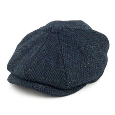 0bc6f06c6bfd Buy the Jaxon   James Brooklyn Newsboy Cap - Navy at Village Hats. The  destination for hats and caps online.
