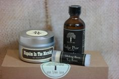 Manly As F*CK Kit : Organic Beard oil, Napalm Soy Candle & Bacon Lip Balm! - pinned by pin4etsy.com