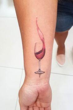 50 Best Wine tattoo images in 2018 | Bottles, Tattoo ideas