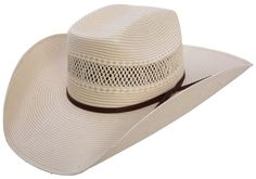 Resistol Lawless Natural Shantung Straw Cowboy Hat | AA Callisters