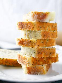 Lemon Poppy Seed Mini Loaf Cakes... Yes!