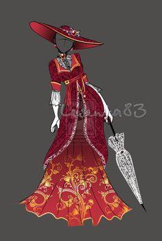 Dress Alexandra Fedorovna (OPEN) by Lesenka83