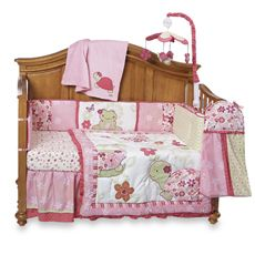 Cocalo Once Upon A Pond 6 Piece Crib Bedding Set And Accessories Bed