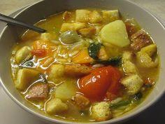 Greek Cooking, Fun Cooking, Cooking Recipes, Vegan Vegetarian, Vegetarian Recipes, Healthy Recipes, Soup And Sandwich, Greek Recipes, Vegetable Recipes