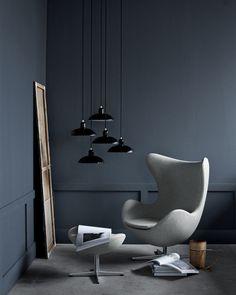 Egg Chair door Fritz Hansen - Arne Jacobsen
