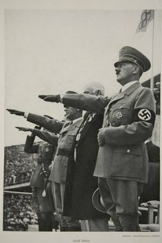 Adolf Hitler at the 1936 Olympic Games