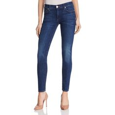 True Religion Halle Mid Rise Super Skinny Jeans in Cumd Worn Vintage ($205) ❤ liked on Polyvore featuring jeans, cumd worn vintage, dark denim skinny jeans, true religion, vintage skinny jeans, true-religion skinny jeans and blue skinny jeans