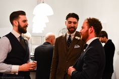 John, Paul and James, of Cad & The Dandy, enjoy proceedings at the event. www.cadandthedandy.co.uk