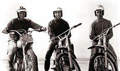 Steve McQueen, Mert Lawwill, Malcolm Smith