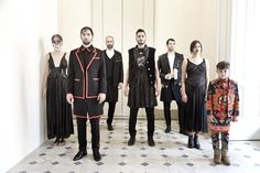 Giada Lippi / Givenchy - AW menswear 2015