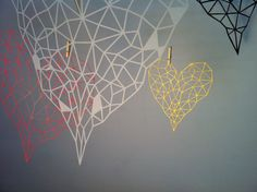 Geometric valentine's day gifts by Anat Stein on Etsy